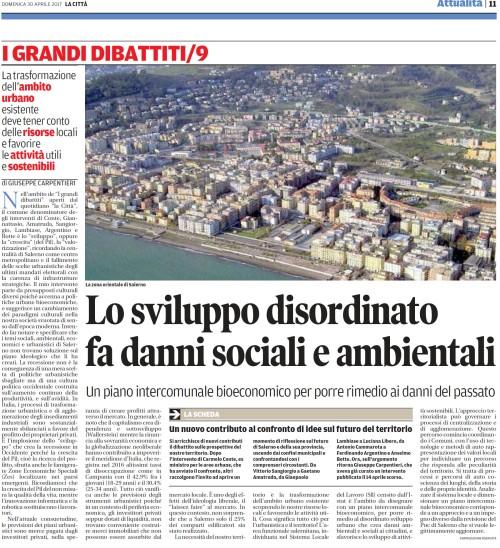 La Città di Salerno 30 aprile 2017