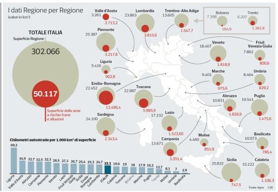 rischio frane CorriereSera 26112019
