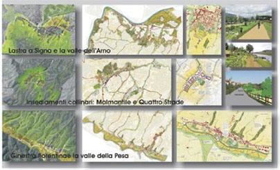 Adalgisa Rubino, Lastra a Signa, progetto di bioregione urbana.